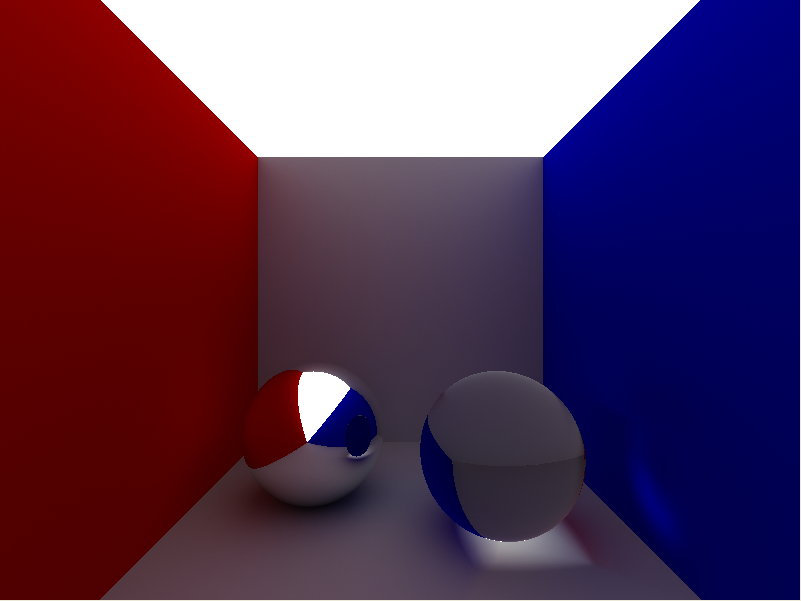 Raytracer output